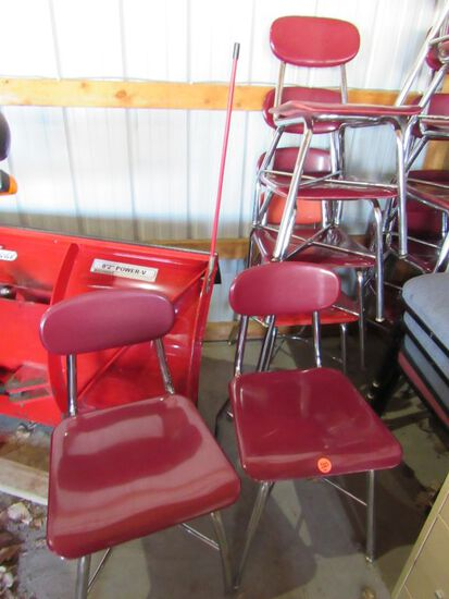 6 pc children's chairs
