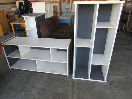 2 pc shelf unit