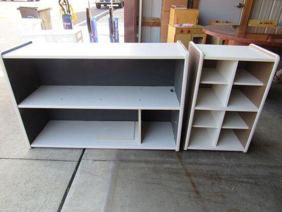 2 pc shelving unit