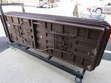 Eight ft folding table