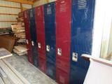 6 locker set