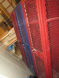 Set of 3 screened lockers