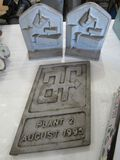 Cast bookends and more