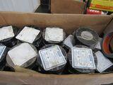 Box of vinyl plastic electrical tape