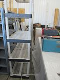 Shelving unit and clothes rack