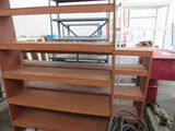 2 pc handmade wooden shelves