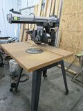 Craftsman 10 in radial saw