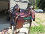 V.H. Saddlery circle M horse saddle