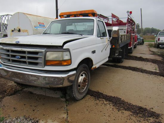 1992 Ford F350 Flatbed