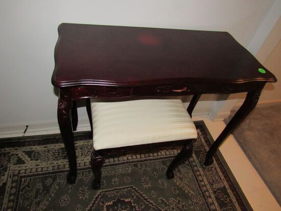 Entry table and stool
