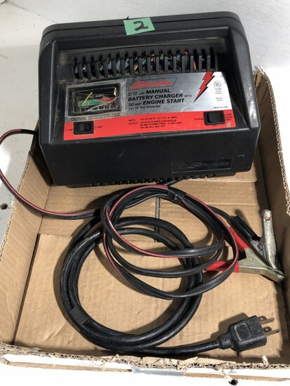 Battery Charger, works