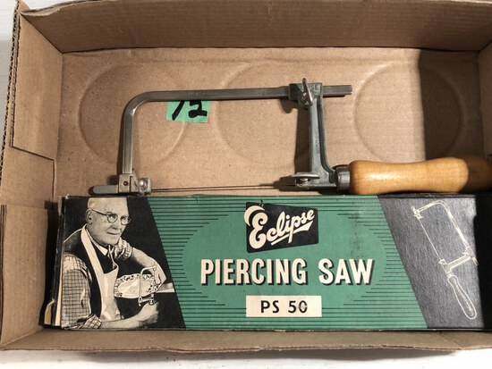 Vtg Eclipse Piercing Saw PS 50