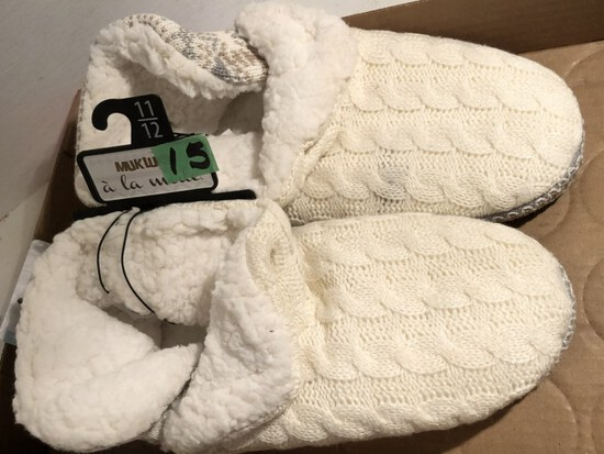 Bedroom Slippers size 11/12 NWTags