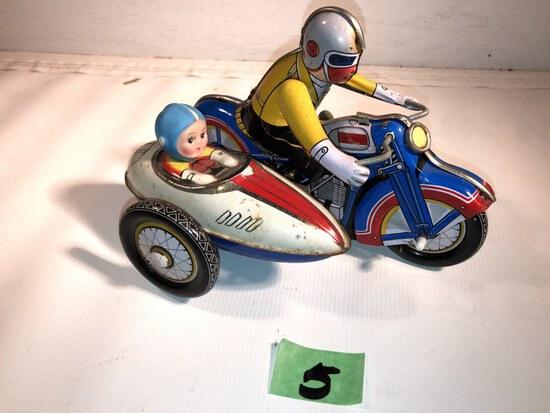 Tin Windup Toy Cycle