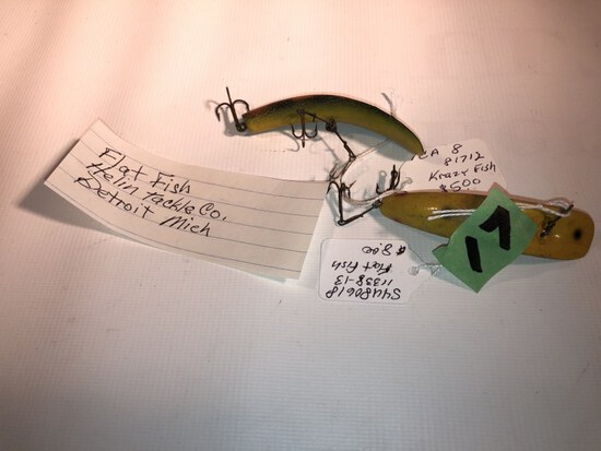 2-Fish Baits see picture for details