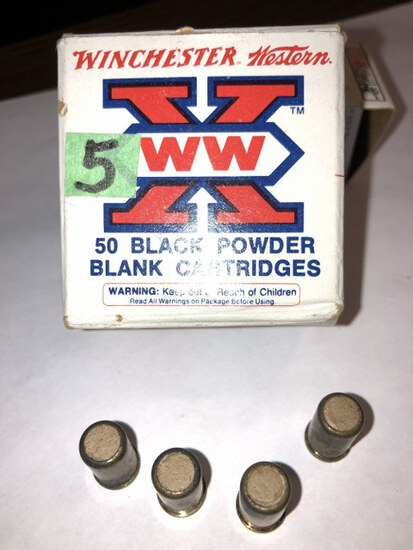 Winchester Black Powder Blank Cartridges, 26 in Box