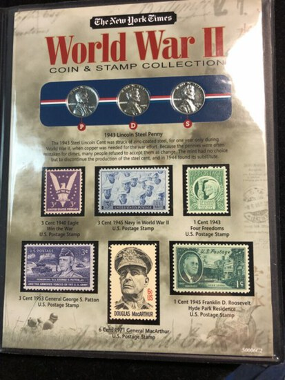 WW II Coins & Stamps