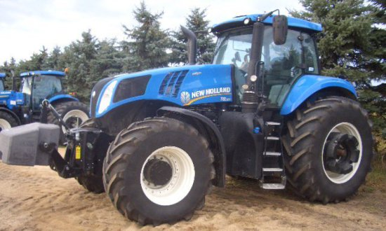 2016 NH T8-380 MFWD Tractor