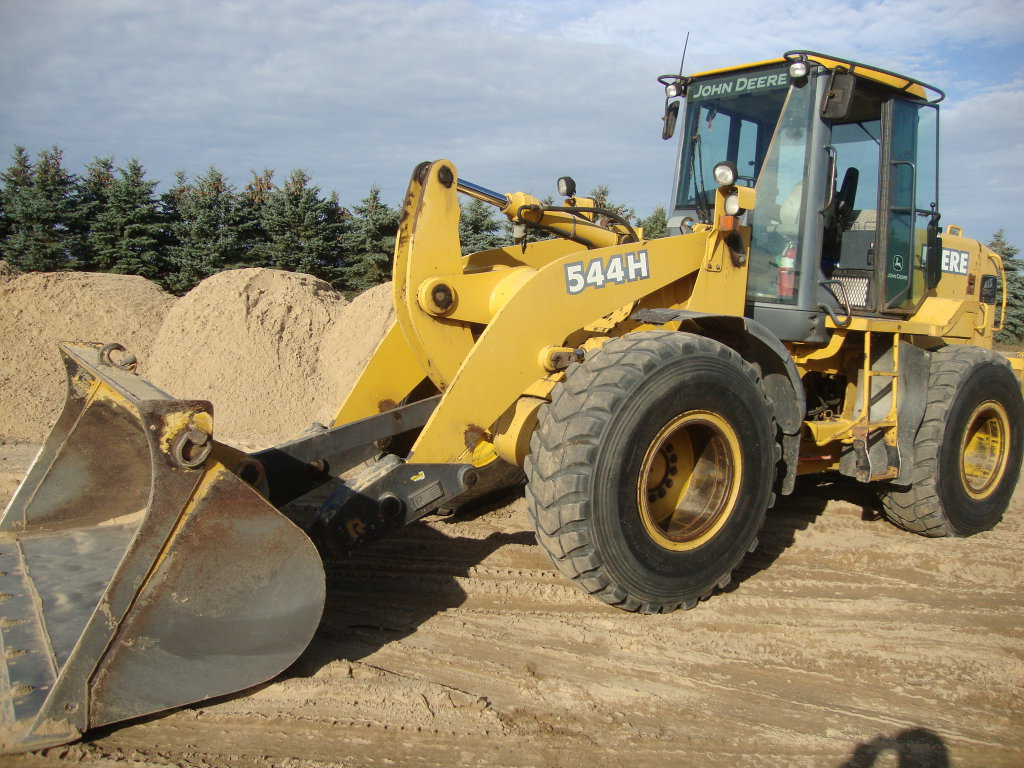 2003 JD 544H wheel loader
