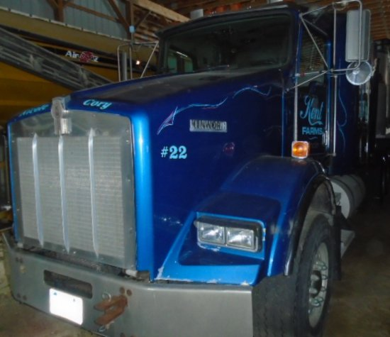 1996 KW T-800 T/A ROAD TRACTOR