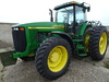 01 JD 8310 MFWD DSL. TRACTOR,