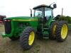 01 JD 8310 MFWD DSL. TRACTOR