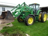 94 JD 7700 MFWD DSL. TRACTOR,