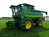 2007 JD 9860 STS BULLET ROTOR RWA COMBINE,