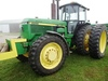 1990 JD 4955 MFWD TRACTOR
