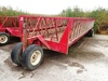 CATTLEMANS CHOICE 24' METAL TRICYCLE FEEDER WAGON