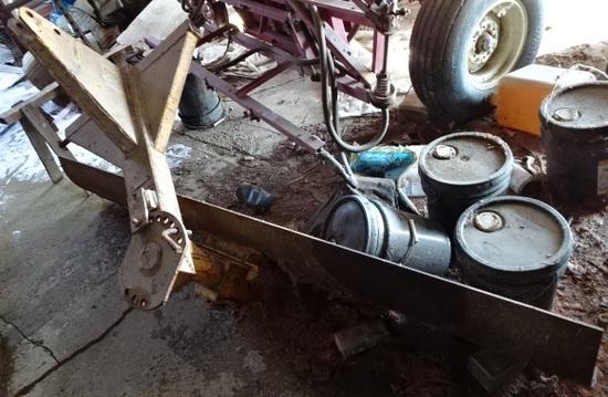 COONTZ 650 8' 3 PT. BACK BLADE