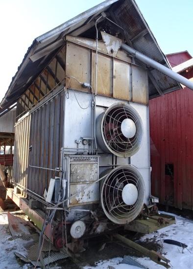 MC 600 LP. GAS GRAIN DRYER