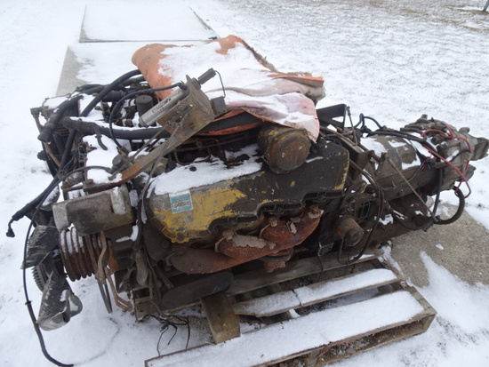 CAT 3208 ENGINE W/ ALLISON TRANSMISSION