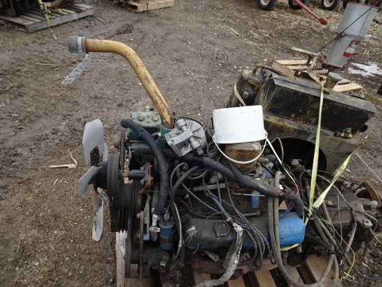 FORD 390 V-8 GAS W/ ALLISIN TRANSMISSION