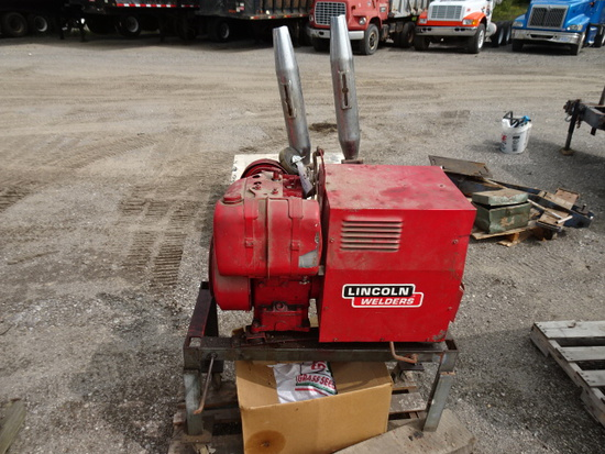 LINCOLN WELD POWER 150 PORTABLE STICK WELDER
