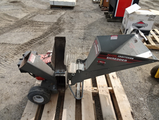 craftsman 9hp chipper