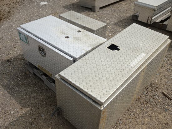 3PCS. ALUM SIDE MOUNT TOOLBOXES