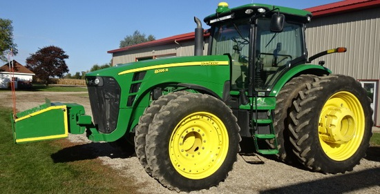 2010 JD 8295R MFWD TRACTOR