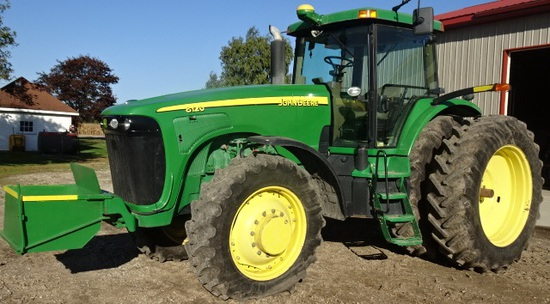 2004 JD 8120 MFWD TRACTOR