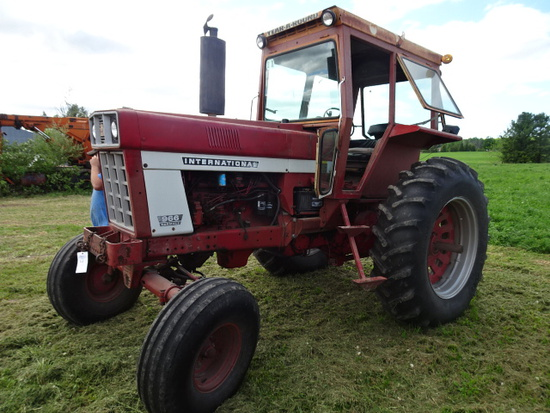 1975 966 DSL. TRACTOR  3626 METERED HRS