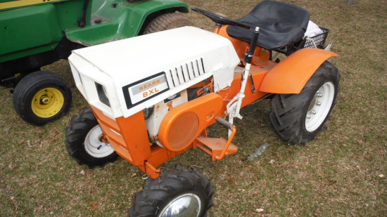 Antique Sears Tractors : Sears xl garden tractor sn auctions online proxibid
