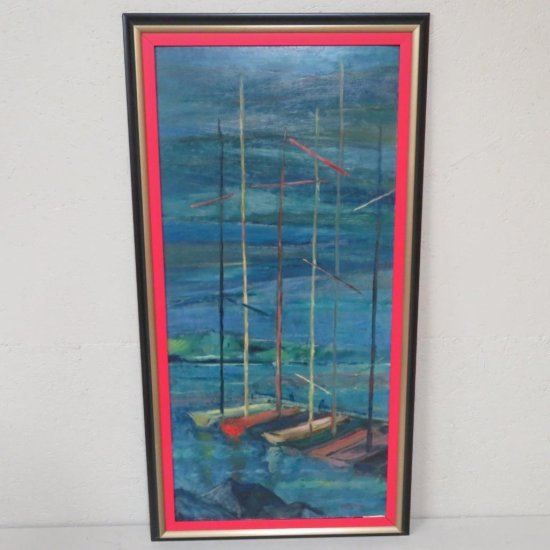 1955 Eugene Olson Boats in Ephraim