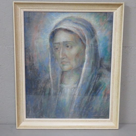 Spicuzza pastel of a woman
