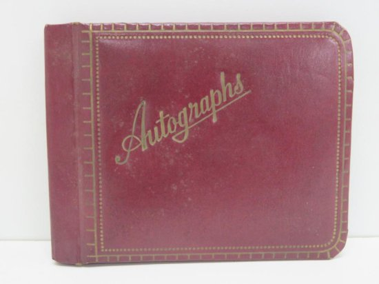 Old Autograph book