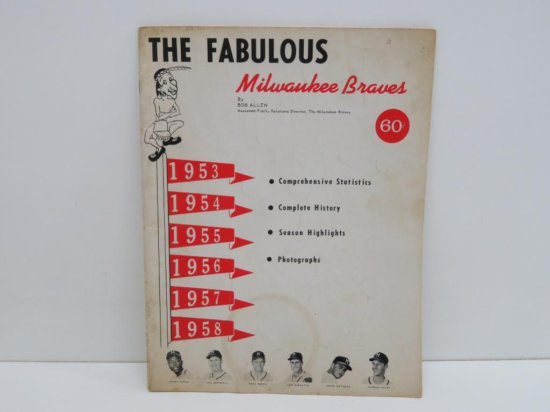 The Fabulous Milwaukee Braves by Bob Allen, yearbook