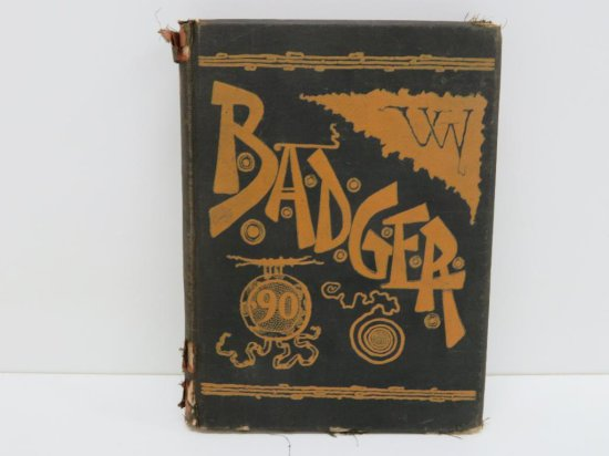1890 University of Wisconsin Madison Yearbook, Badger