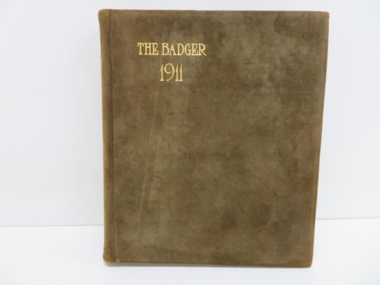1911 Badger University of Wisconsin Yearbook