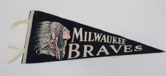 Milwaukee Braves Pennant