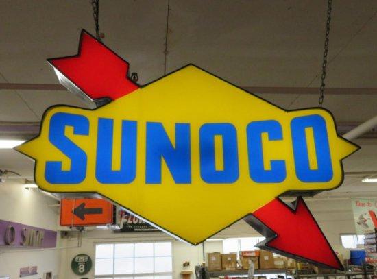 Sunoco Lighted Sign