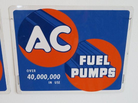 AC Fuel Pumps Metal sign